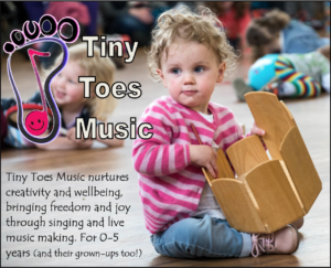 Tiny Toes Music Advert