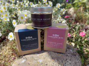 Yorkshire Rose Candles