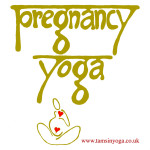pregnancy yoga logo tamsin