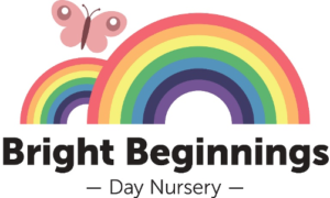bright beginnings nursery logo