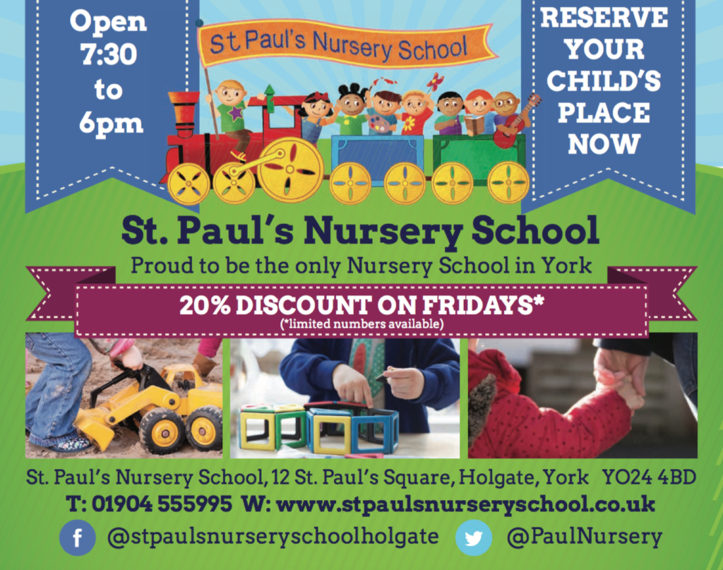 St Pauls Nursery York