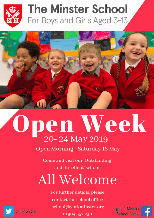 The Minster School Open Week