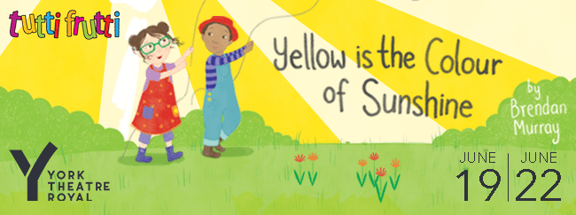 Yellow is the colour of Sunshine website banner