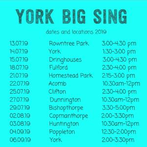 York Big Sing