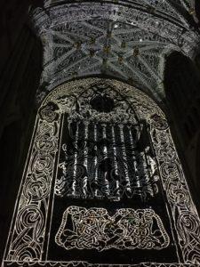 Northern Lights at York Minster