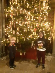 Around the Christmas Tree at York Castle Museum