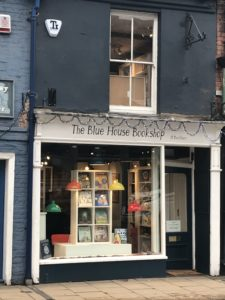 The Blue House Bookshop, York outside