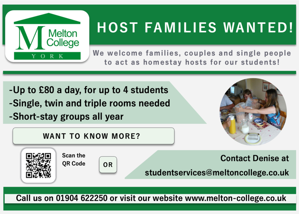 Melton College advert