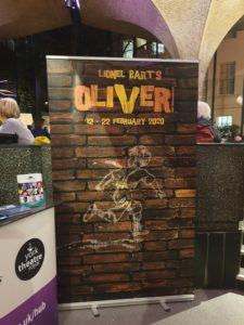 Oliver sign York Theatre Royal