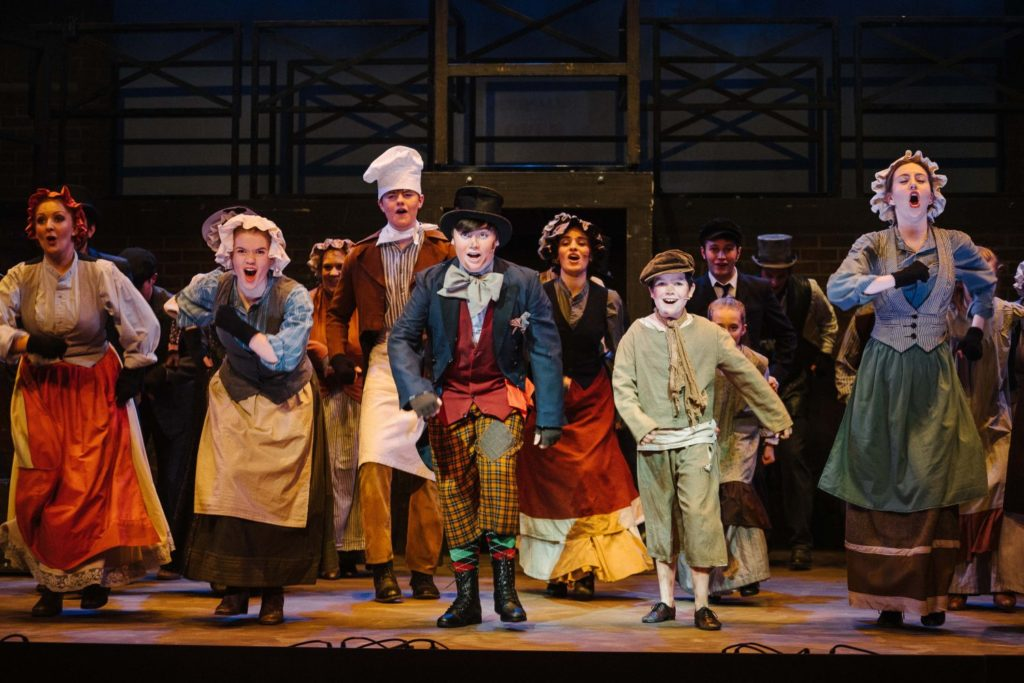Oliver show shot York Theatre Royal