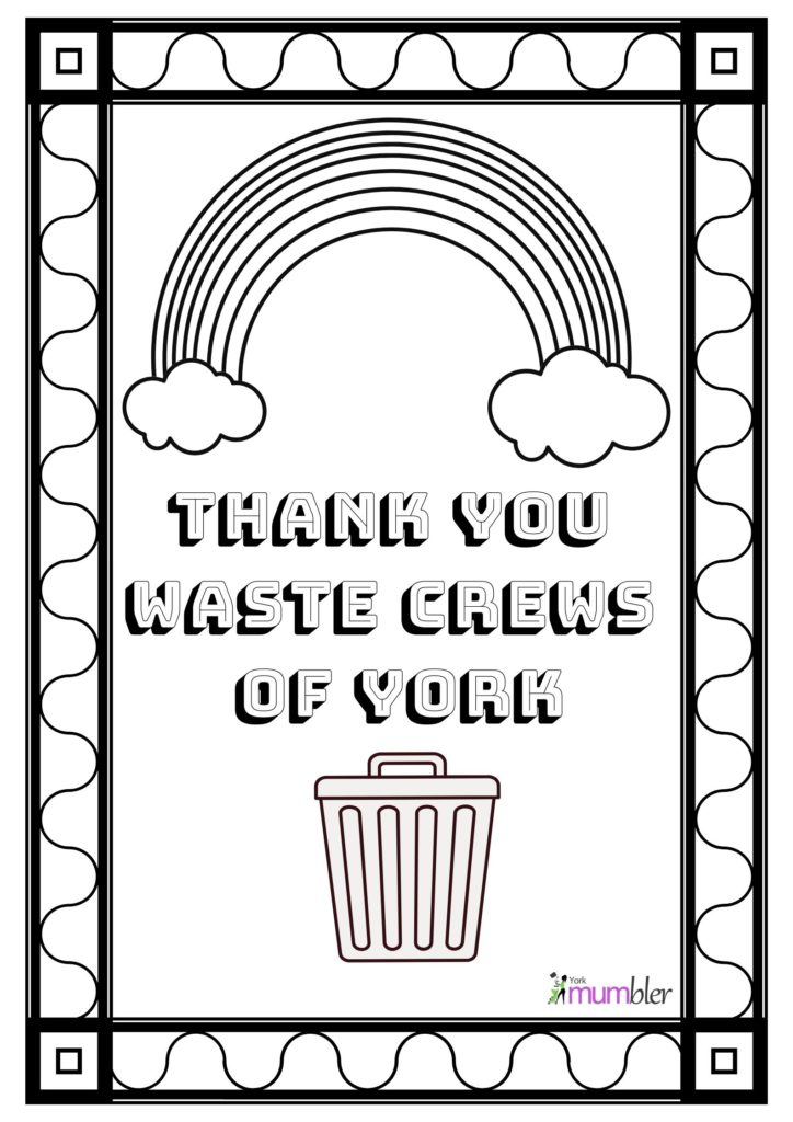 Thank You Free Coloring Page | Kimble Recycling & Disposal | 1024x724