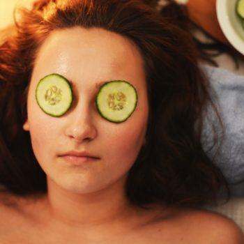 woman pamper treatment
