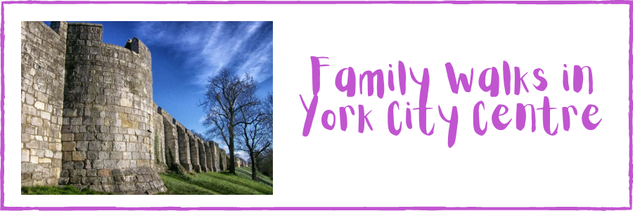 Family Walks in York City Centre