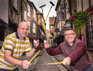 Hole in Wand York - Ben Fry and Phil Pinder on the Shambles